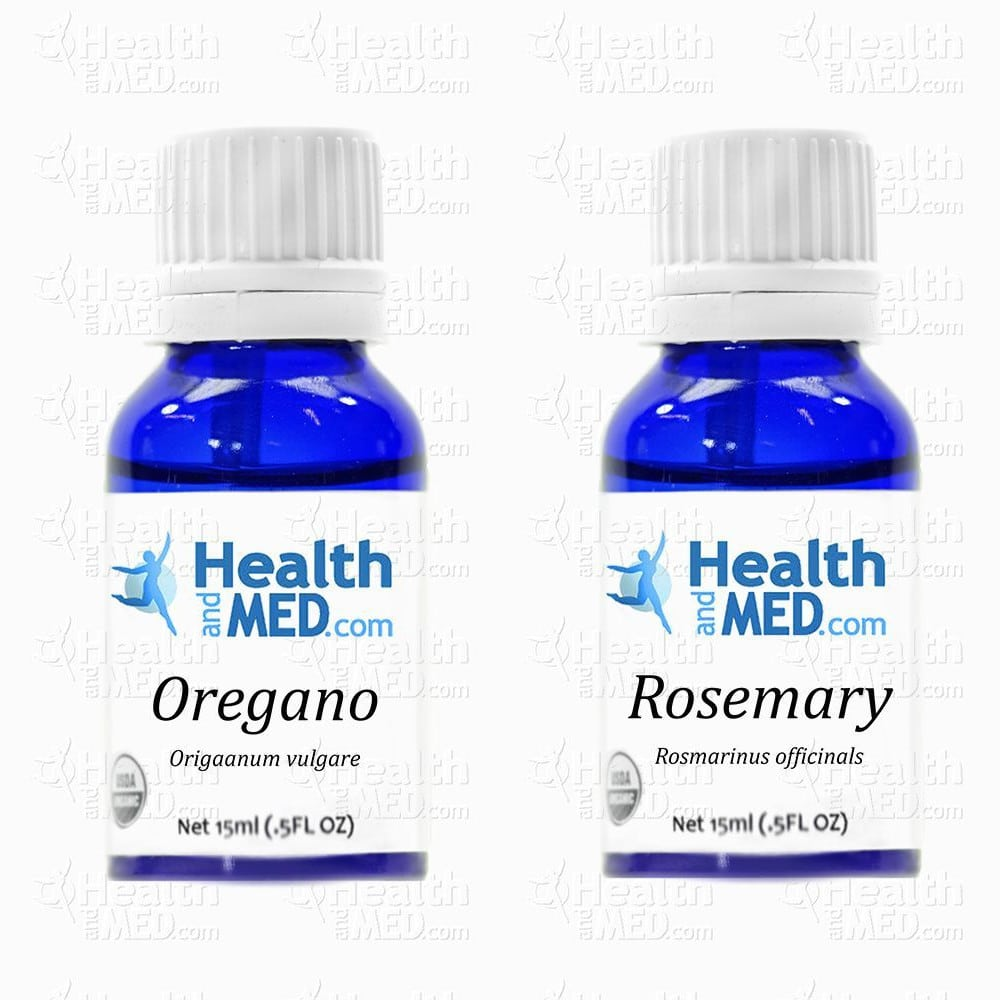 Essential Oil Health Benefits  Oregano & Rosemary