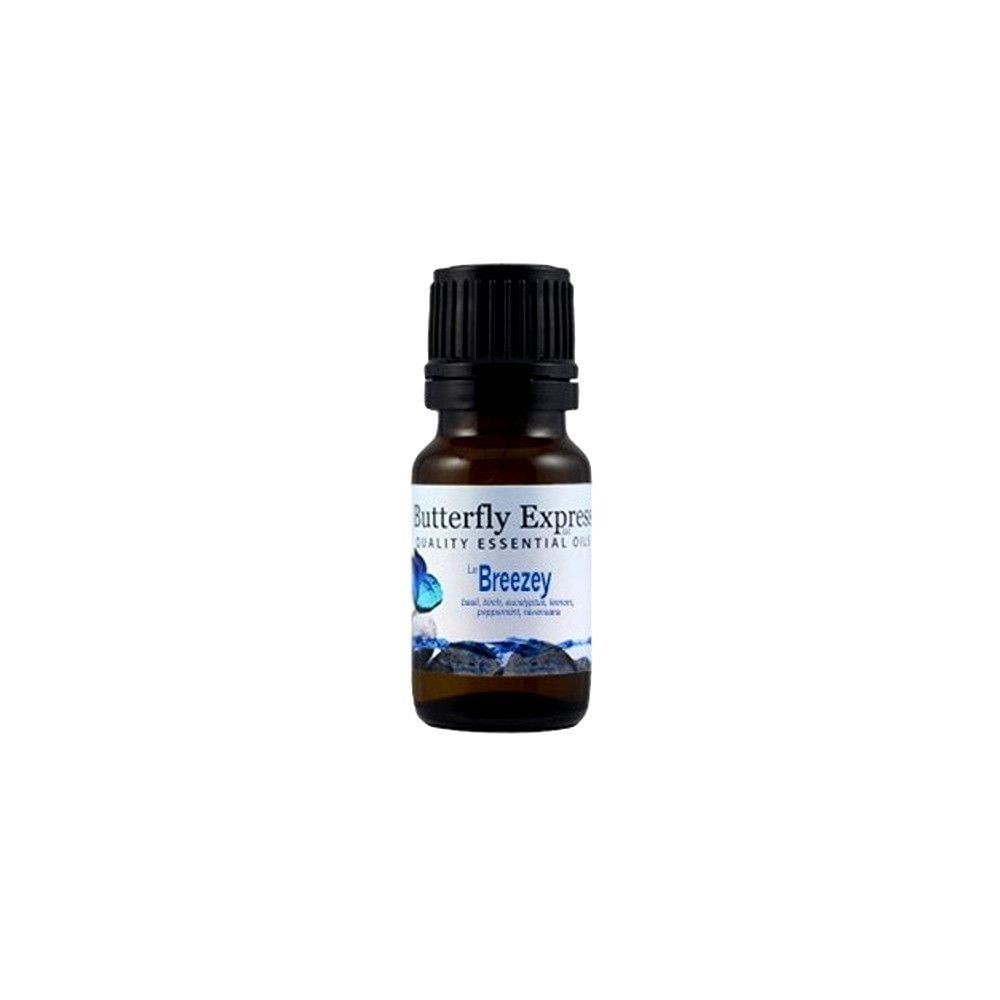 Butterfly Express Breezey 100% Therapeutic Grade Essential Oil (10ml)