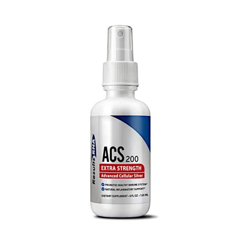 Results RNA ACS 200 Extra Strength Silver – 4oz Spray