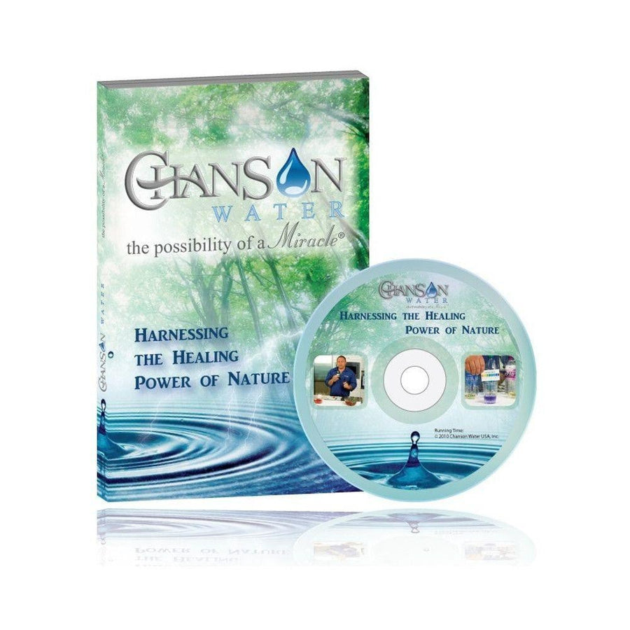 "Chanson Water DVD ""Harnessing the Healing Power of Nature"""