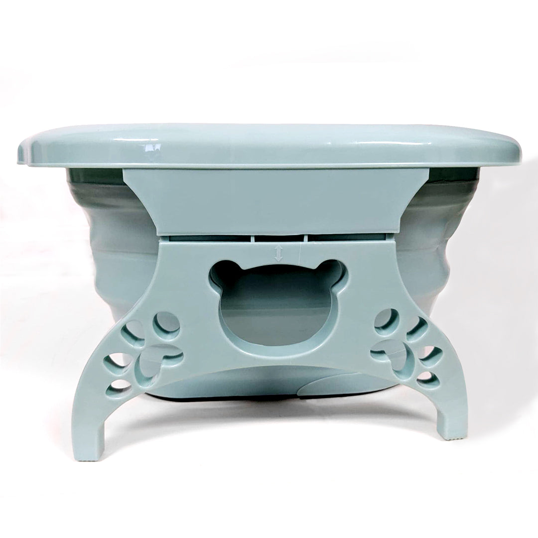 Small Collapsible Foot Tub Side