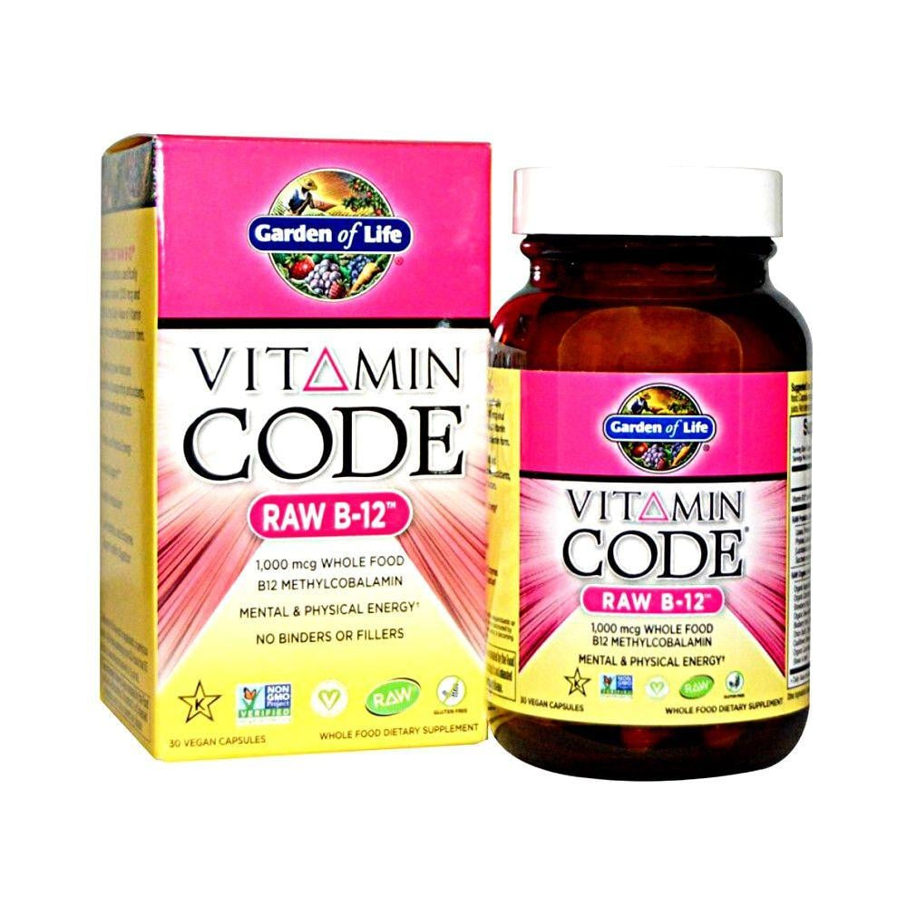 Garden of Life Vitamin Code Raw B-12
