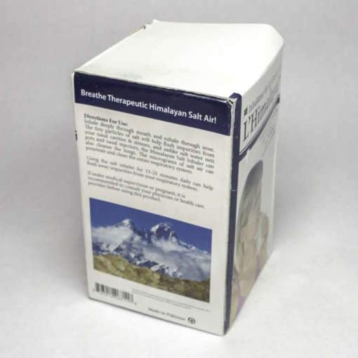 Refillable Ceramic Himalayan Salt Inhaler