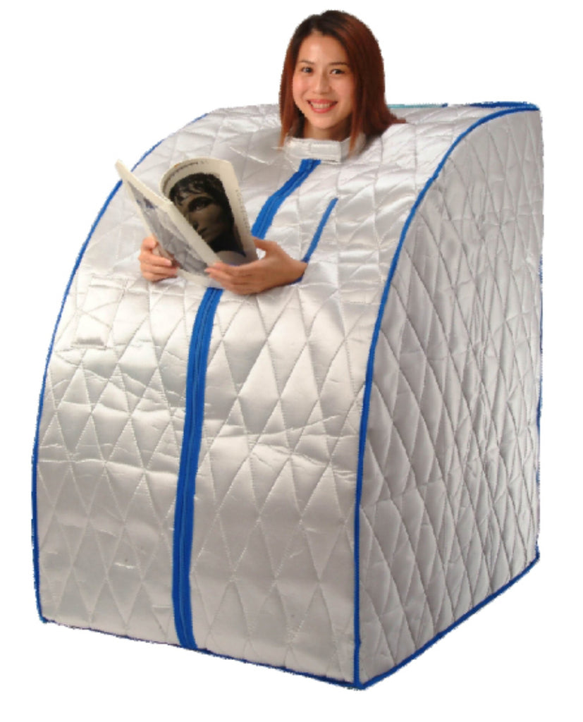 FIR-Real Portable Far Infrared Sauna with Carbon Fiber Wall Panels (REFURBISHED)