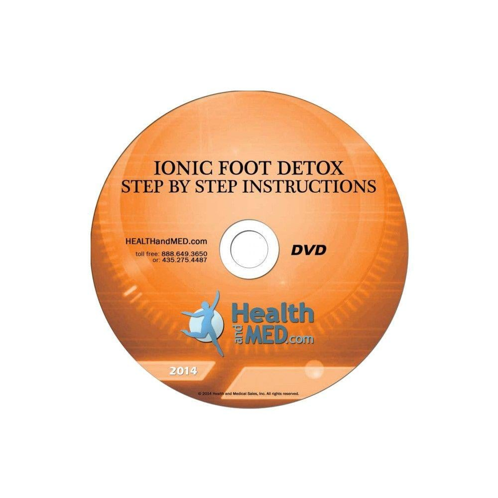 Ionic Foot Detox Step by Step Instructional DVD