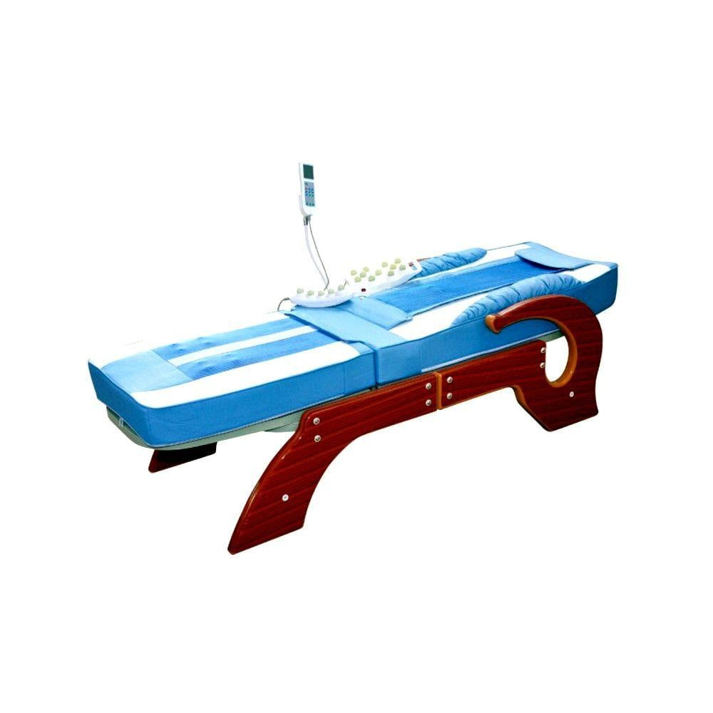Deluxe Far Infrared Jade Therapy Massage Bed / Spinal Traction Table