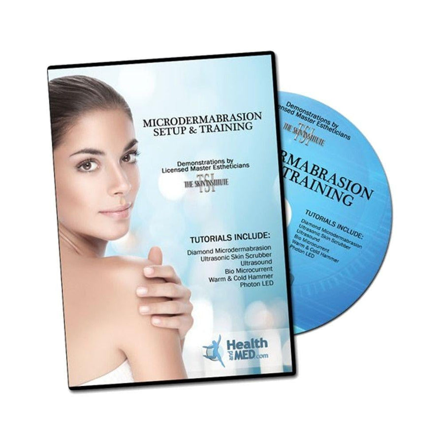 Diamond Microdermabrasion Tutorial Training DVD