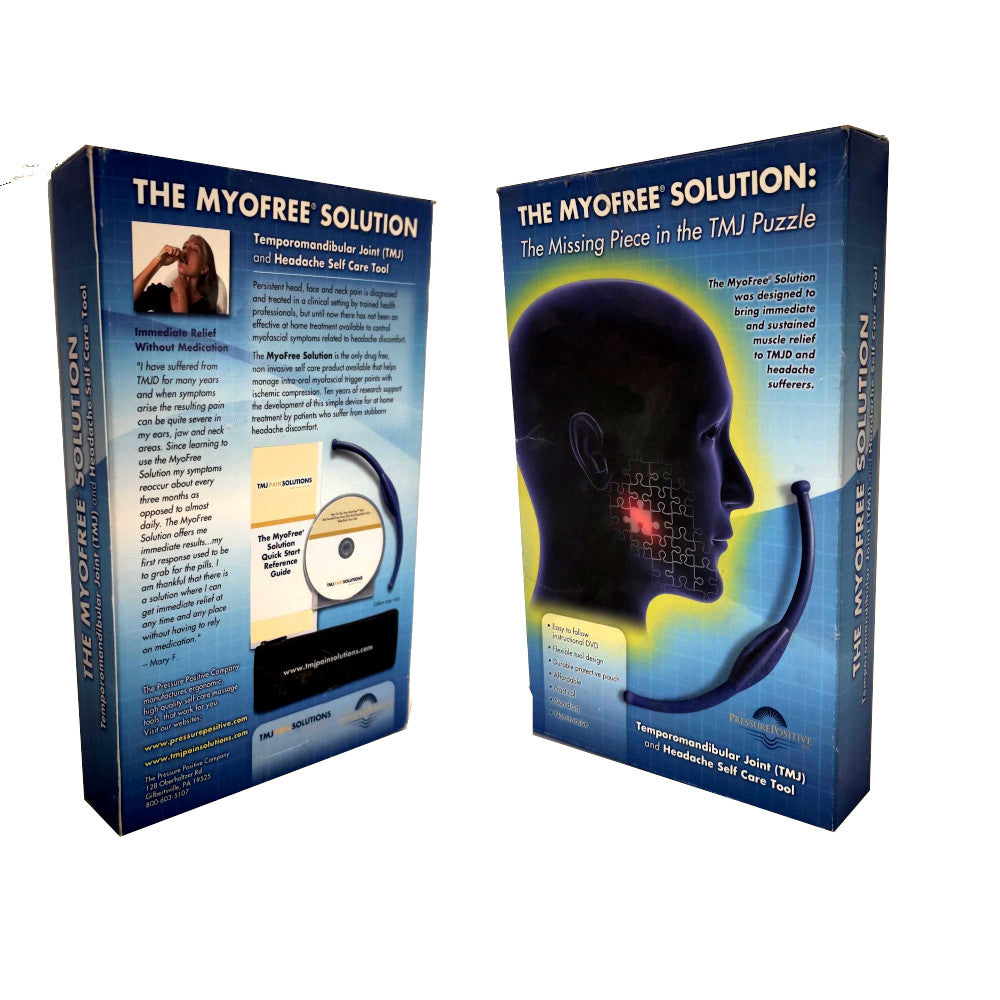 The MyoFree Solution TMJ Massage Tool Kit