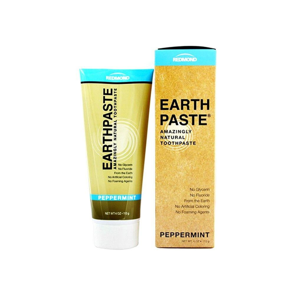Redmond Clay Earthpaste Natural Toothpaste Peppermint - 4oz.