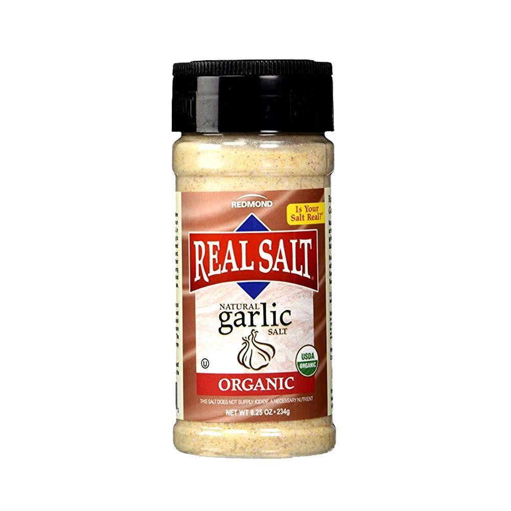 Real Salt Organic Garlic Salt