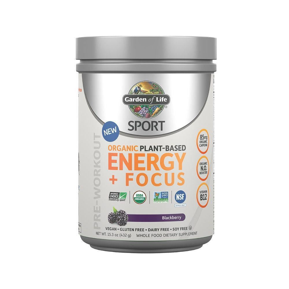 SPORT Organic Plant Based Energy + Focus