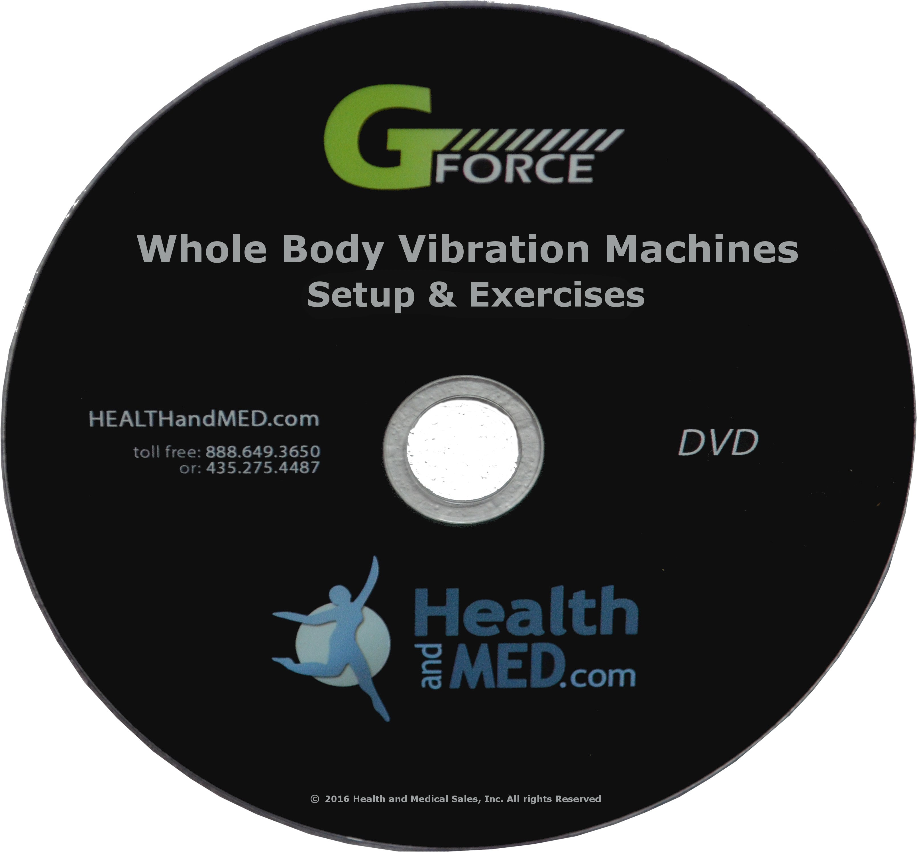 GForce Fold - 1500W Dual Motor Whole Body Vibration Exercise Machine (REFURBISHED)