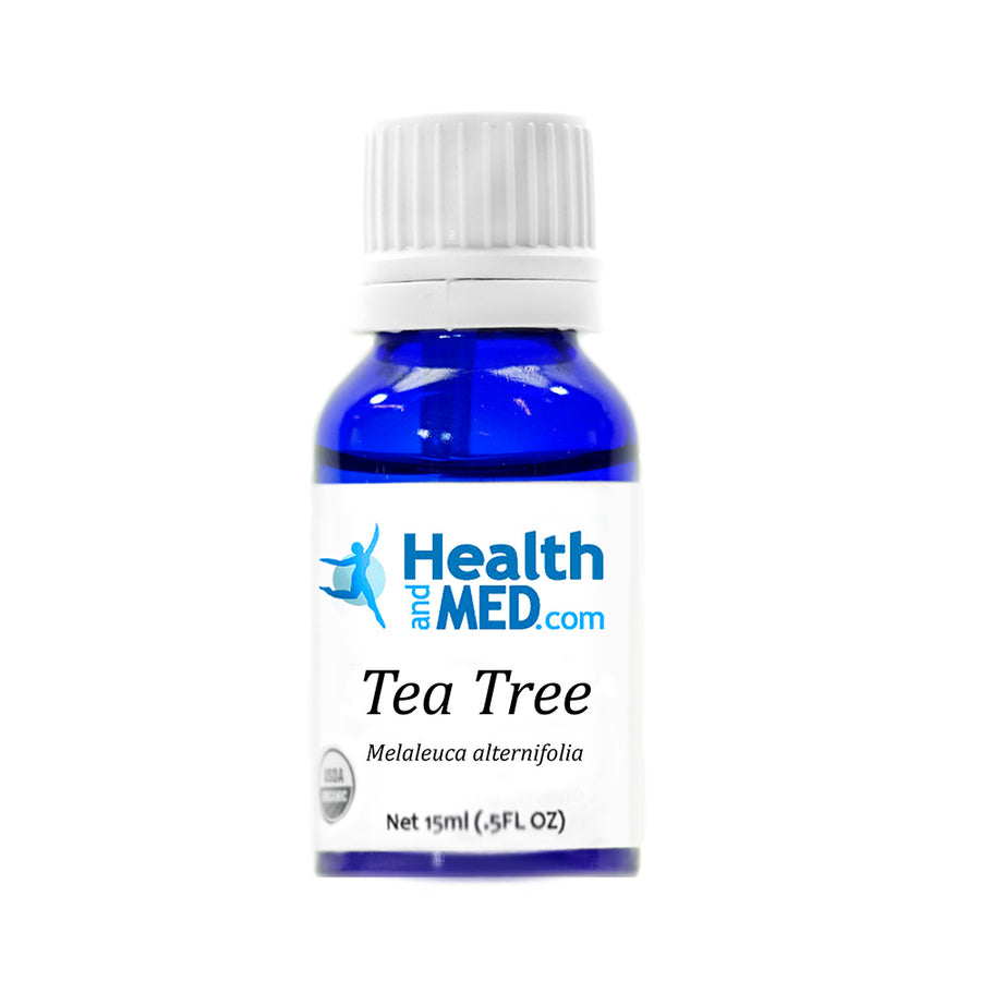 HEALTHandMED 100% Organic Tea Tree Essential Oil (15mL)
