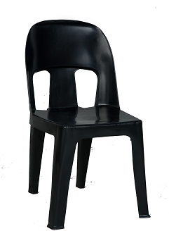 Africa Chair Heavy Duty - Recycled - Black