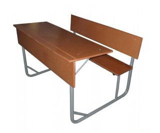Combination Double Desk Supawood