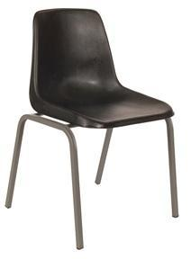 Polyshell Chair - Recycled - Charcoal - 375H