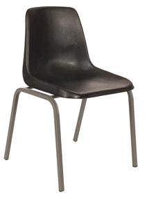Polyshell Chair - Recycled - Charcoal - 450H