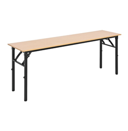 Fold Up Conference Table in Melamine Oak Only