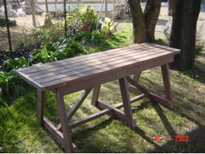 Free Standing Table 2