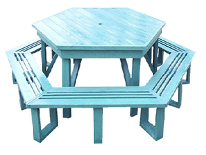 Hex Picnic Bench