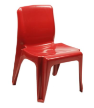 Maxi Virgin Plastic Chair
