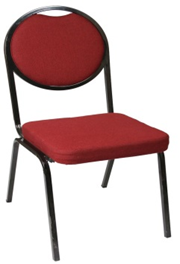Oval Back Conference Chair