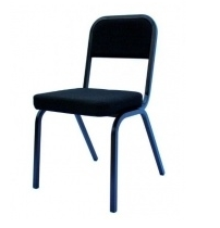 Square Back Conference Chair - Heavy Duty - Choose Colour
