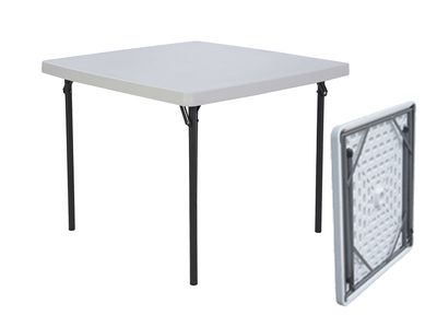 SQUARE FOLDING TABLE 88x88cm