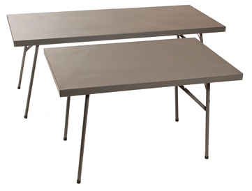Steel Trestle Table - Rectangular  - Choose Size