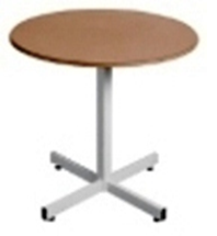 Wooden Single Pedestal Table - Round - Supawood - Choose Size