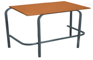 Standard Double Desk Supawood