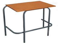 Standard Single Desk - Supawood - Choose Size
