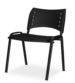 Standard Chair - Without Arms - Black