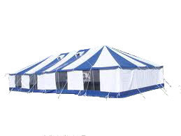 PVC Marquee Tent 9m x 18m