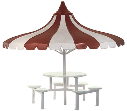 Umbrella Stool Set