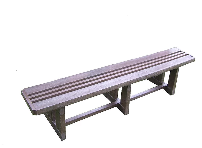 Fancy Bench No Back