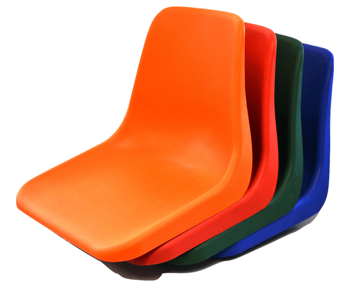Polyshell Seat Only - Virgin - Choose Colour