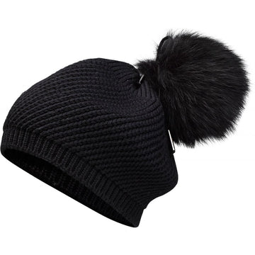 Oh! OH! Aspen Hat Fox Beanies Black