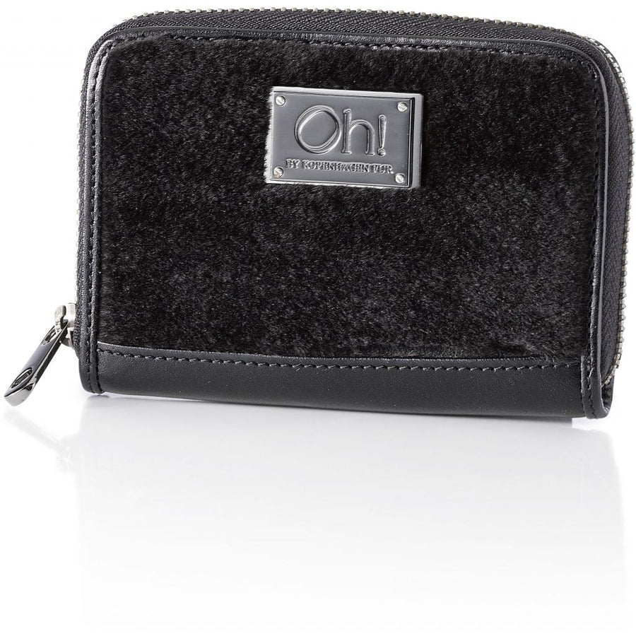 Oh! OH! Daisy Coin Purse Mink Wallet Black