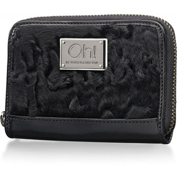 Oh! OH! Daisy Coin Purse Swakara Wallet Black