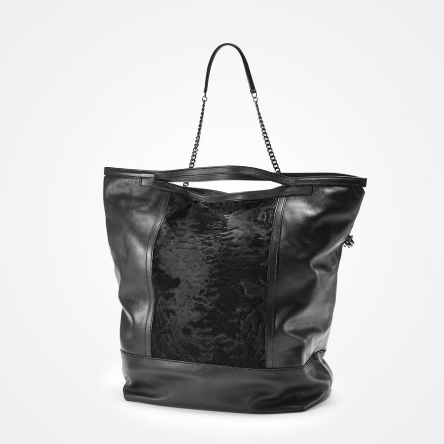 Oh! OH! Handbag Big Swakara Bag Black