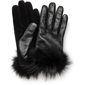 Oh! OH! Olive Gloves Fox Gloves Black