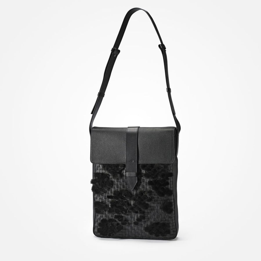 Oh! OH! Oscar Laptop Bag Braided Bag Black