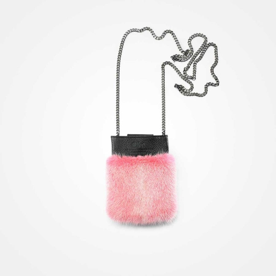 Oh! OH! Mobile Holder Mink Bag Calypso Coral/pink
