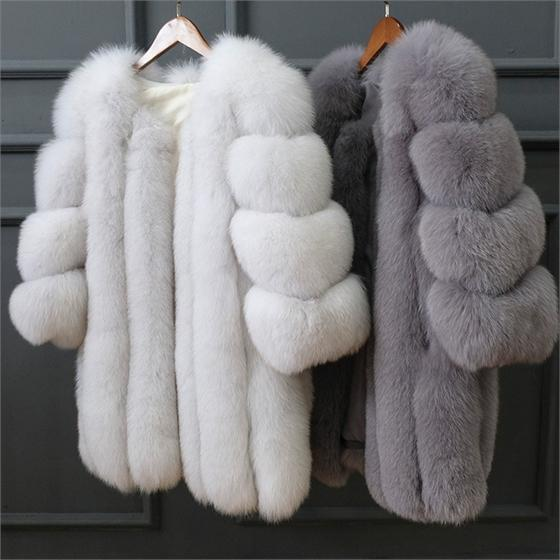 Super Warm and  Cute For Fur Coats For FW2018