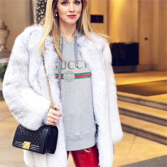 White Fox Fur Fur Coats