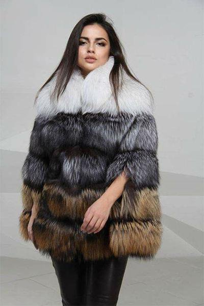 Women Fur Thicken Warm Coat Jacket