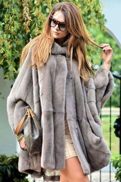 Noble Faux Fur Coat