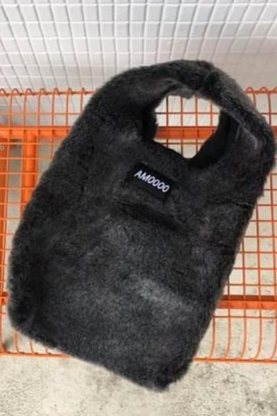 Fashion Wool Fur Handbag