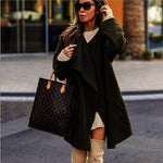Loose sweater fur cardigan